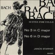 Click here for more info about 'Janos Starker - Bach: Suites For 'Cello - No 3 In C Major / No 6 In D Major'