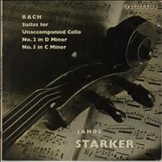 Click here for more info about 'Janos Starker - Bach: Suites For Unaccompanied Cello: No. 2 in D Minor / No. 5 in C Minor'