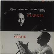 Click here for more info about 'Janos Starker - Brahms: Cello And Piano Sonatas - 180gm'