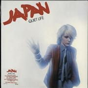 Click here for more info about 'Japan - Quiet Life - 180gm vinyl - Sealed'