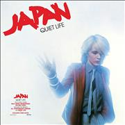 Click here for more info about 'Japan - Quiet Life - Half Speed Remastered - Red Vinyl - Sealed'