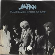 Click here for more info about 'Japan - Sometimes I Feel So Low - Blue Vinyl - Solid'