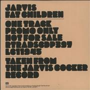 Click here for more info about 'Jarvis Cocker - Fat Children'