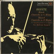 Click here for more info about 'Jascha Heifetz - Bruch: Concerto In G Minor / Mozart: Concerto in D Minor'