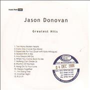 Click here for more info about 'Jason Donovan - Greatest Hits'