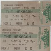 Click here for more info about 'The Hexagon, Reading 5-May-92'