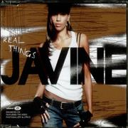 Click here for more info about 'Javine - Real Things'