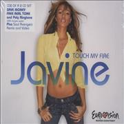Click here for more info about 'Javine - Touch My Fire'