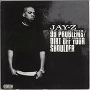 """Jay-Z 99 Problems / Dirt Off Your Shoulder UK 12"""" vinyl"""