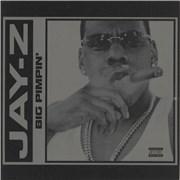 "Jay-Z Big Pimpin' UK 12"" vinyl"