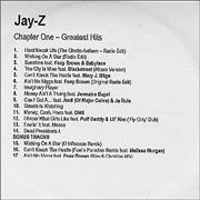 Click here for more info about 'Jay-Z - Chapter One - Greatest Hits'