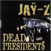 """Jay-Z Dead Presidents USA 12"""" vinyl"""