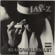Jay-Z Reasonable Doubt - 1st USA 2-LP vinyl set