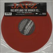 Click here for more info about 'Jay-Z - Roc Boys [And The Winner Is]... - Red vinyl'