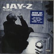 Jay-Z The Blueprint - Blue Vinyl UK 2-LP vinyl set