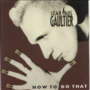 Click here for more info about 'Jean Paul Gaultier - How To Do That - Etched'