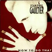 Click here for more info about 'Jean Paul Gaultier - How To Do That'