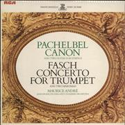 Click here for more info about 'Pachelbel: Canon & Two Suites For Strings / Fasch: Concerto For Trumpet & Two Sinfonias'