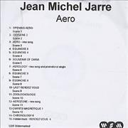 Click here for more info about 'Jean-Michel Jarre - Aero'
