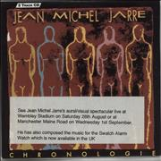 Click here for more info about 'Jean-Michel Jarre - Chronologie - Part 4 - Stickered'