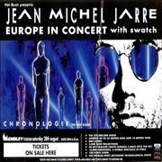 Click here for more info about 'Jean-Michel Jarre - Europe In Concert - Pair of Posters Wembley'