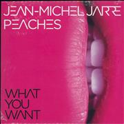 Click here for more info about 'Jean-Michel Jarre - What You Want - Clear Vinyl - Sealed'