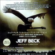 Click here for more info about 'Jeff Beck - Emotion & Commotion - 3 Track Sampler'