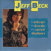 Click here for more info about 'Jeff Beck - Stop Look And Listen'