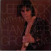 Click here for more info about 'Jeff Beck - Live - blue label'