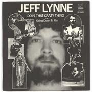 "Jeff Lynne Doin' That Crazy Thing UK 7"" vinyl"