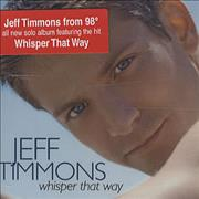 Click here for more info about 'Jeff Timmons - Whisper That Way'