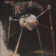 Click here for more info about 'Jeff Wayne - Highlights From The War Of The Worlds'