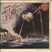 Click here for more info about 'Jeff Wayne - The War Of The Worlds - 2nd - Stickered - Ex'