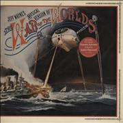 Click here for more info about 'Jeff Wayne - The War Of The Worlds - 2nd - Single Song Sticker/Gold promo stamp'
