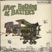 Click here for more info about 'Jefferson Airplane - After Bathing At Baxter's - 1st - Red spot'