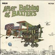 Click here for more info about 'Jefferson Airplane - After Bathing At Baxter's - Orange Label - VG/EX'