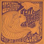 Click here for more info about 'Jefferson Airplane - Fillmore Auditorium, San Francisco Concert Postcard'