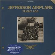 Click here for more info about 'Jefferson Airplane - Flight Log - stickered p/s - EX'