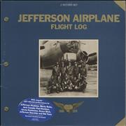 Click here for more info about 'Jefferson Airplane - Flight Log - stickered p/s'