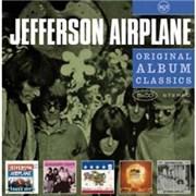 Jefferson Airplane Original Album Classics UK 5-CD set