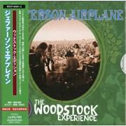 Jefferson Airplane Volunteers: Woodstock Edition Japan 2-CD album set