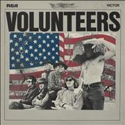 Click here for more info about 'Jefferson Airplane - Volunteers - black label'