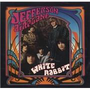 """Jefferson Airplane White Rabbit - White Vinyl USA 7"""" vinyl Promo"""