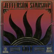 Click here for more info about 'Jefferson Starship - Gold - Promo Stamp'