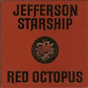 Click here for more info about 'Jefferson Starship - Red Octopus'