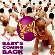 Click here for more info about 'Jellyfish - Baby's Coming Back - Picture'