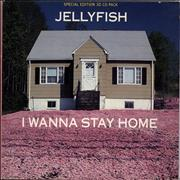 Click here for more info about 'Jellyfish - I Wanna Stay Home - 3D Sleeve + Glasses'