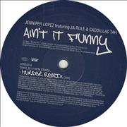 "Jennifer Lopez Ain't It Funny (Murder Remixes) UK 12"" vinyl Promo"