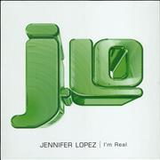 "Jennifer Lopez I'm Real UK 12"" vinyl Promo"