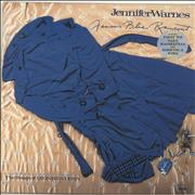 Click here for more info about 'Jennifer Warnes - Famous Blue Raincoat - Hype Sticker'